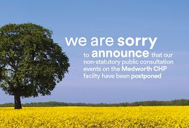Public consultation events postponed